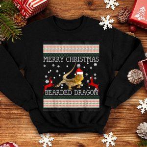 Nice Bearded Dragon Christmas-Ugly Merry Christmas sweater