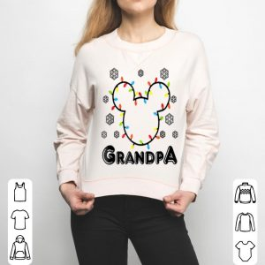 Nice Disney Mickey Christmas Grandpa Standard sweater