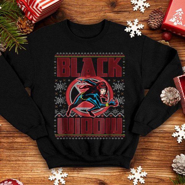 Nice Marvel Black Widow Ugly Christmas sweater