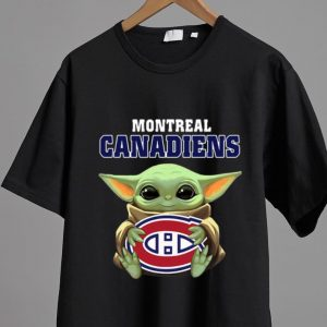 Nice Star Wars Baby Yoda Hug NHL Montreal Canadiens shirt 1