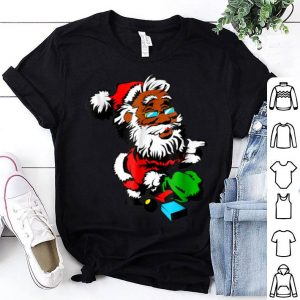 Official African American Santa Claus Christmas Gifts sweater