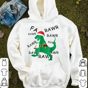 Original Funny Christmas Dinosaur T Rex Gift for Boys Adult Men sweater