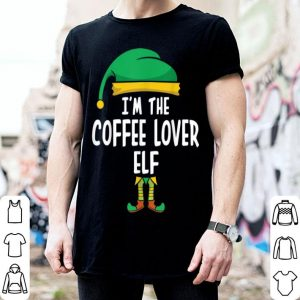 Original I'm The Coffee Lover Elf Matching Family Group Christmas sweater