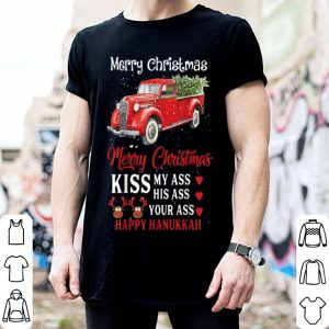 Premium Merry Christmas Kiss My Ass Your Ass Funny sweater