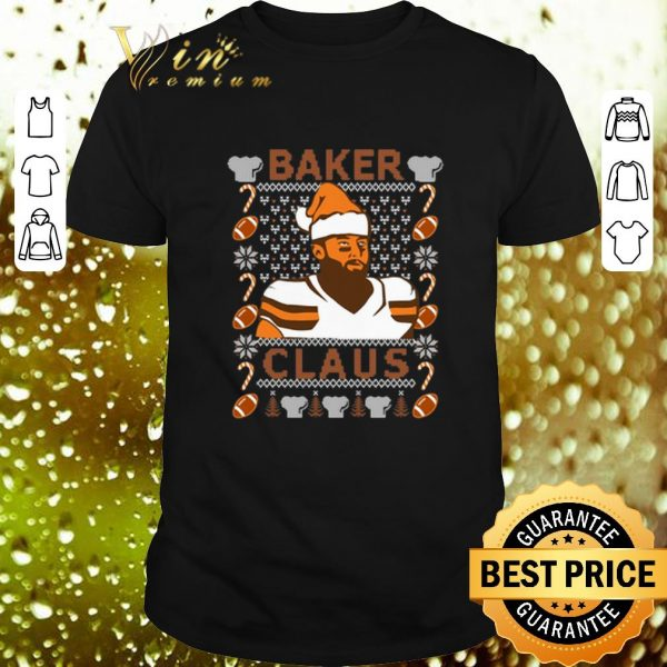Pretty Baker Mayfield Baker Claus Cleveland Brown ugly Christmas sweater