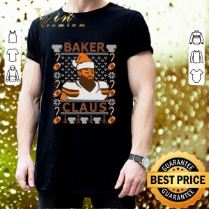 Pretty Baker Mayfield Baker Claus Cleveland Brown ugly Christmas sweater 2