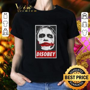 Pretty Batman Chaos And Disobey Joker art shirt 1