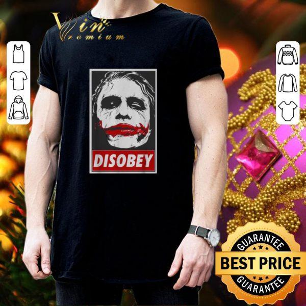 Pretty Batman Chaos And Disobey Joker art shirt
