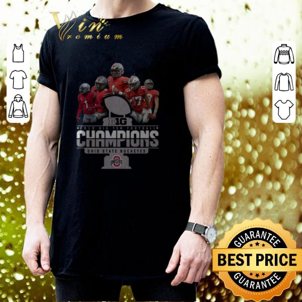 Pretty Big 2019 Big Ten Football Champions Ohio State Buckeyes shirt