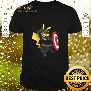 Pretty Captain America Pikachu Marvel Avenger shirt