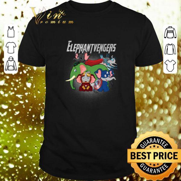 Pretty Elephant Marvel Avengers Endgame Elephantvengers shirt