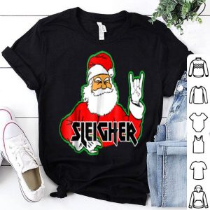Pretty FUNNY Santa Sleigher Slayer Heavy Metal Ugly Christmas sweater