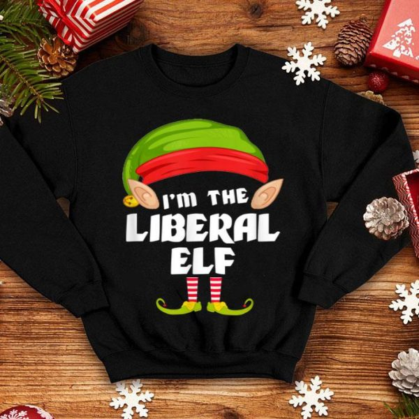 Pretty Funny Liberal Elf Matching Family Group PJ Christmas sweater