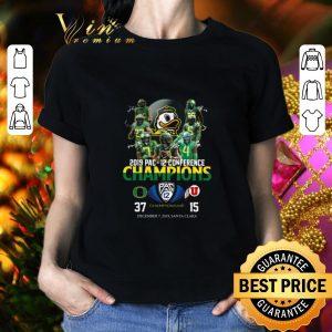 Pretty Oregon Ducks 2019 Pac 12 conference championship 37 15 shirt 1