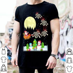 Pretty Schnauzer Reindeer Christmas Tee Dog Lover Gifts sweater