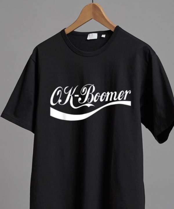 Awesome Ok Boomer Coca Cola Style shirt