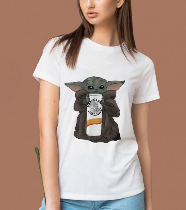 Awesome Star Wars Baby Yoda Hug Claw Hard Seltzer shirt