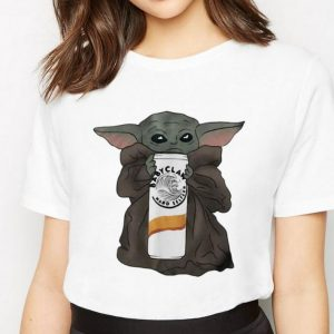 Awesome Star Wars Baby Yoda Hug Claw Hard Seltzer shirt 2