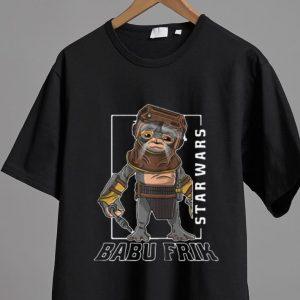 Hot Star Wars Babu Frik shirt