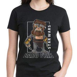 Hot Star Wars Babu Frik shirt 2