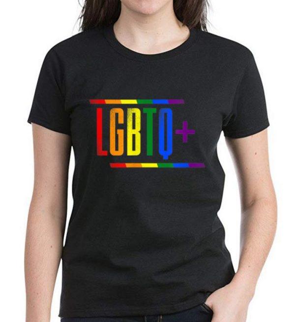 Nice LGBTQ+ Rainbow Love shirt