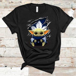 Nice Star Wars Baby Yoda Blood Inside Toronto Maple Leafs shirt