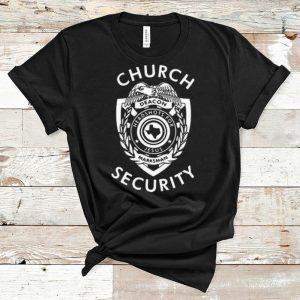 Official Church Security Deacon Headshots For Jesus Marksman shirt