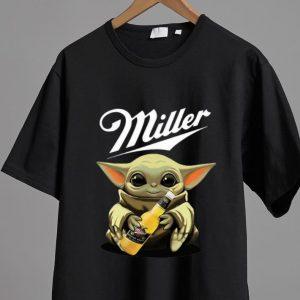 Official Star Wars Baby Yoda Hug Miller Genuine Draft shirt