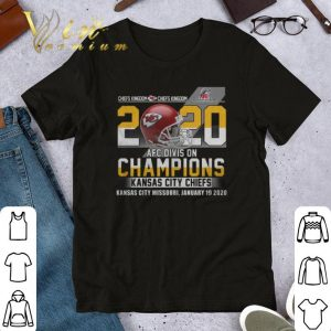 Original Chiefs Kingdom Championship 2020 AFC Division Kansas City Chiefs shirt
