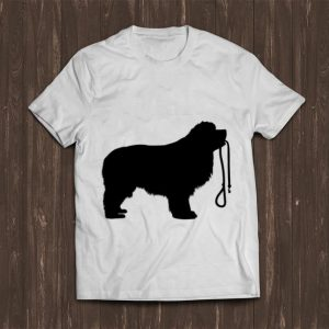 Premium Newfie Wants To Walk Dog Lovers shirt