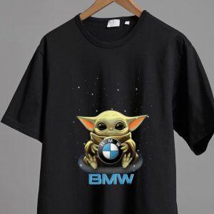 Pretty Star Wars Baby Yoda Hug BMW shirt