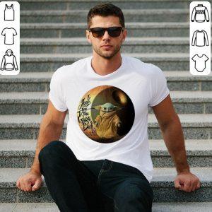 Star Wars Baby Yoda i love you to the galaxy & back Mandalorian shirt