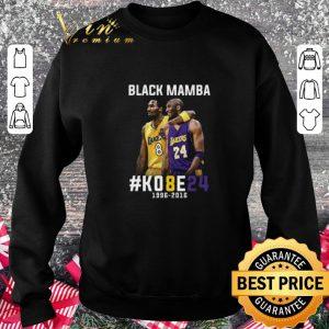 Awesome Kobe Bryant Black Mamba K08E24 1996 - 2016 Los Angeles Lakers shirt 2