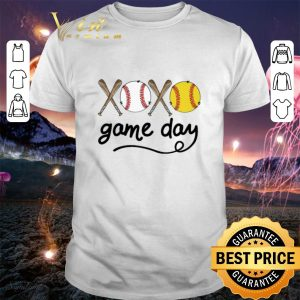 Best Xoxo game day baseball shirt