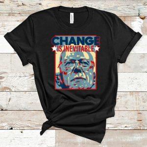 Great Vote Bernie Sanders 2020 Change Is Inevitable shirt