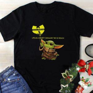Hot Baby Yoda hold balloon Wu-Tang Clan C.R.E.A.M. Lyrics shirt