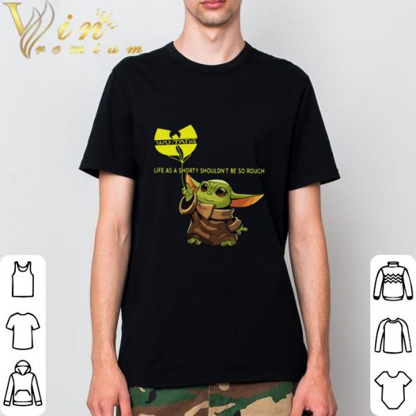 Hot Baby Yoda hold balloon Wu-Tang Clan C.R.E.A.M. Lyrics shirt