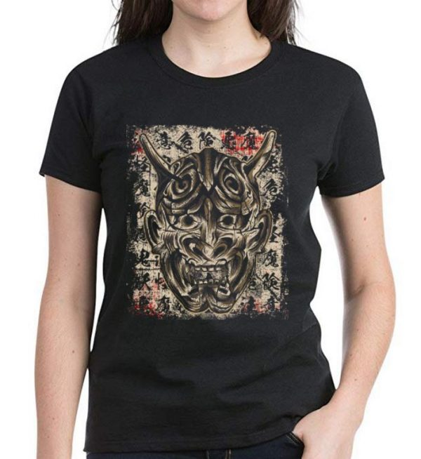Hot Japanese Demon Yokai Hannya Mask shirt