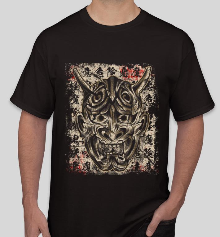 Hot Japanese Demon Yokai Hannya Mask shirt 4 - Hot Japanese Demon Yokai Hannya Mask shirt