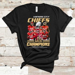 Hot Kansas City Chiefs Super Bowl Champions Hard Rock Stadium Miami Gardens shirt