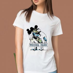 Hot Mickey Mouse Dinosaur Wrong Park shirt