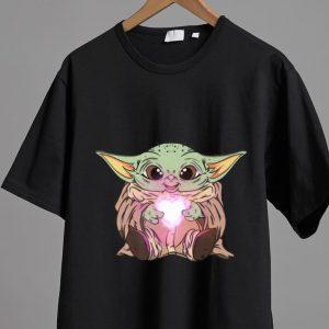 Original The Baby Yoda Adorable Kawii Star Wars shirt