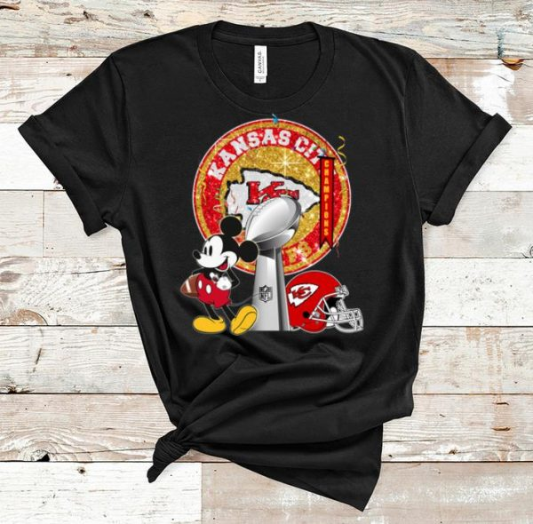 Top Mickey Mouse Super Bowl Champions Kansas City Chiefs shirt