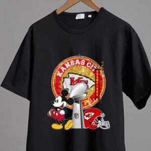 Top Mickey Mouse Super Bowl Champions Kansas City Chiefs shirt 1