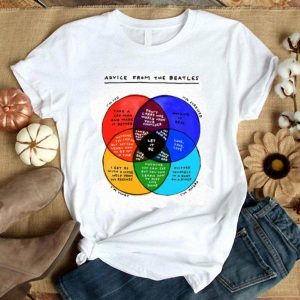 Advice From The Beatles Overlap Let It Be shirt