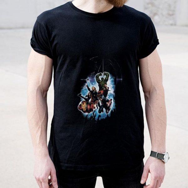 Avengers Iron Man Captain America Hulk Thor Black Widow shirt