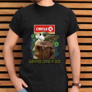 Baby Yoda Circle K Survived Covid 19 2020 shirt