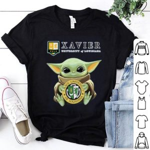Baby Yoda Xavier University Of Louisiana shirt