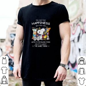 Best Snoopy You can't buy happiness but you can listen to Queen shirt