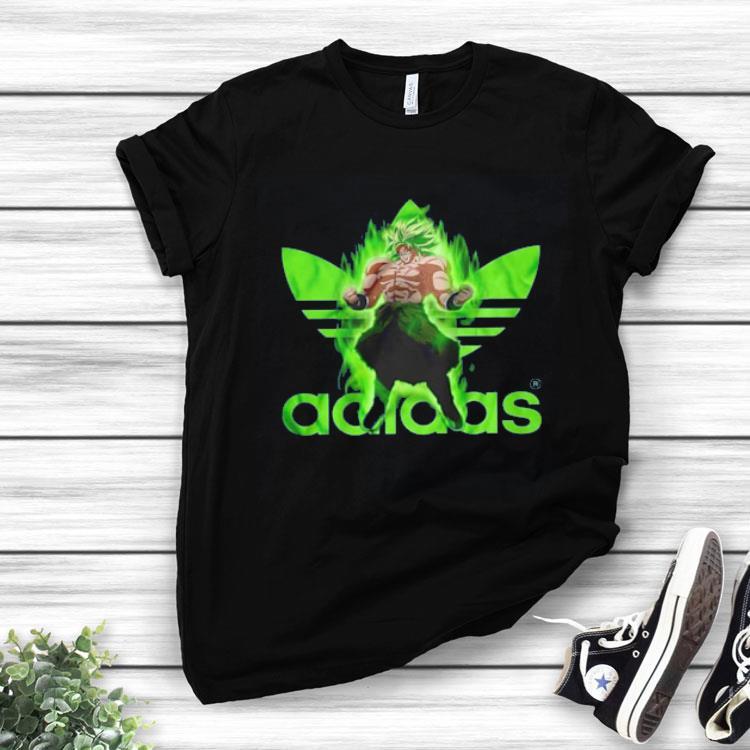 tee shirt dragon ball z adidas
